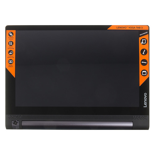 Планшет LENOVO Yoga Tablet 3 YT3-X50, 2GB, 16GB, 3G, 4G, Android . черный [za0k0021ru]