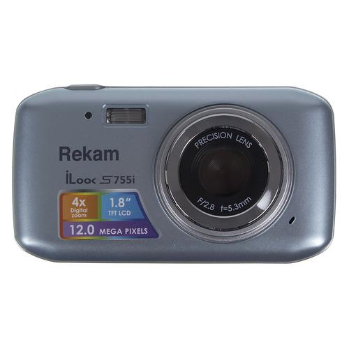 Фото - Цифровой фотоаппарат REKAM iLook S755i, серый металлик 150 мм 15 см 6 электронной цифровой жк сталь штангенциркуль калибр микрометр