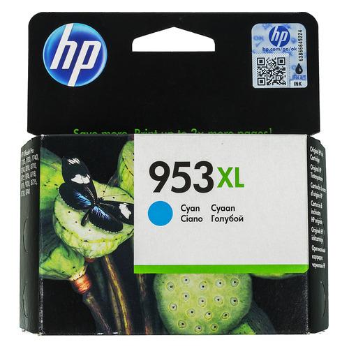 Картридж HP 953XL, голубой [f6u16ae] картридж hp 953xl f6u16ae для officejet pro 8210 8218 8710 8720 8730 8740 голубой
