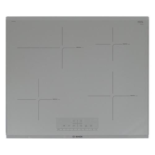 Варочная панель BOSCH PIF679FB1E, индукционная, независимая, серебристый