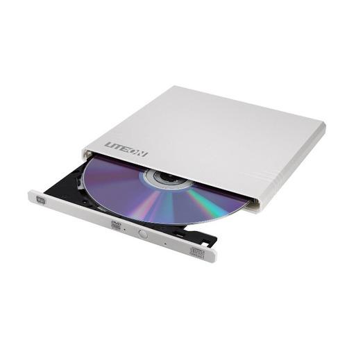 цена на Оптический привод DVD-RW LITE-ON eBAU108, внешний, USB, белый, Ret
