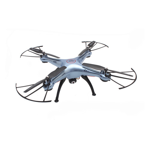 Квадрокоптер SYMA X5HC с камерой, синий [x5hc blue] original syma drone with camera hd x5hc x5c upgrade 2 4g 4ch rc helicopter quadcopter dron quadrocopter toy