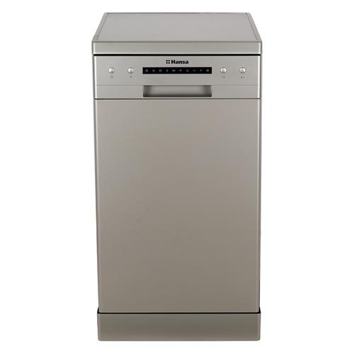 лучшая цена Посудомоечная машина HANSA ZWM 416 SEH, узкая, серебристая