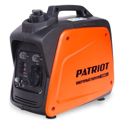 Бензиновый генератор PATRIOT 1000i, 220 В, 0.9кВт [474101025] patriot 1000i