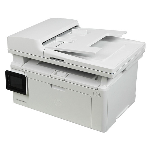 цена на МФУ лазерный HP LaserJet Pro MFP M132fw RU, A4, лазерный, белый [g3q65a]