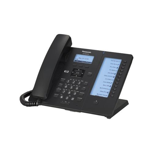 SIP телефон PANASONIC KX-HDV230RUB sip телефон escene es330 pen 3 sip аккаунта 132x64 lcd дисплей 8 программируемых клавиш 12 клавиш быстрого набора blf xml ldap регулируемая подст