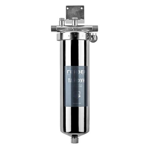 Водоочиститель ГЕЙЗЕР Тайфун 10SL 1/2, серебристый цена и фото