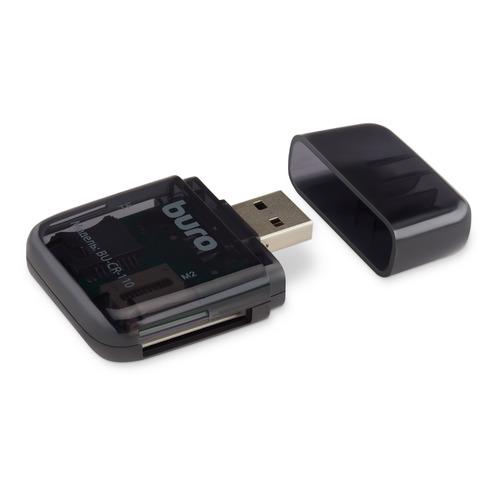 Фото - Картридер внешний BURO BU-CR-110, черный ключ рожковый kraft кт 700535 24 27 мм хром ванадиевая сталь cr v