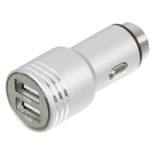 цена на Автомобильное зарядное устройство WIIIX UCC-2-12, 2xUSB, 2.1A