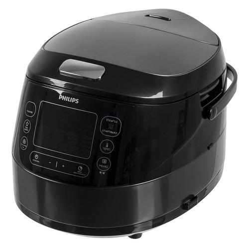 Мультиварка PHILIPS HD4749/03, 980Вт, черный стоимость
