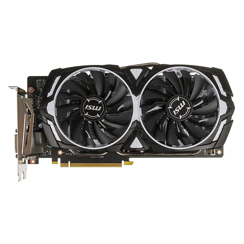 цена на Видеокарта MSI nVidia GeForce GTX 1060 , GeForce GTX 1060 ARMOR 6G OCV1, 6Гб, GDDR5, OC, Ret
