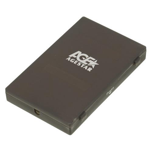 Внешний корпус для HDD/SSD AGESTAR SUBCP1, черный  - купить со скидкой