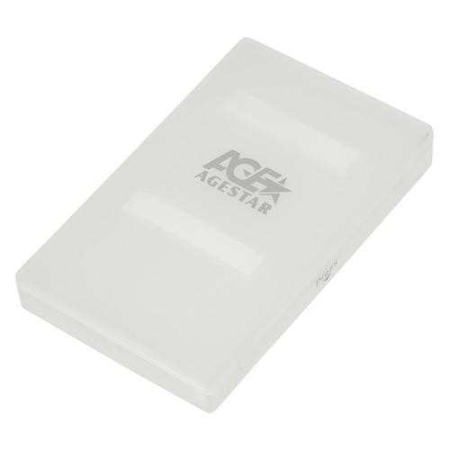 Внешний корпус для HDD/SSD AGESTAR SUBCP1, белый