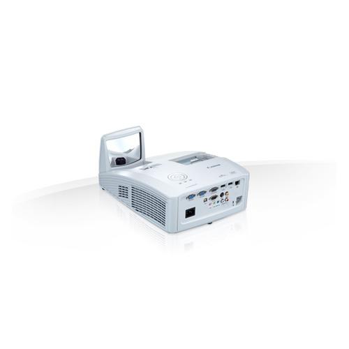 Фото - Проектор CANON LV-WX300UST, белый [0646c003] мультимедийный проектор infocus in136st black dlp 1280 х 800 16 10 4000 lm 28500 1