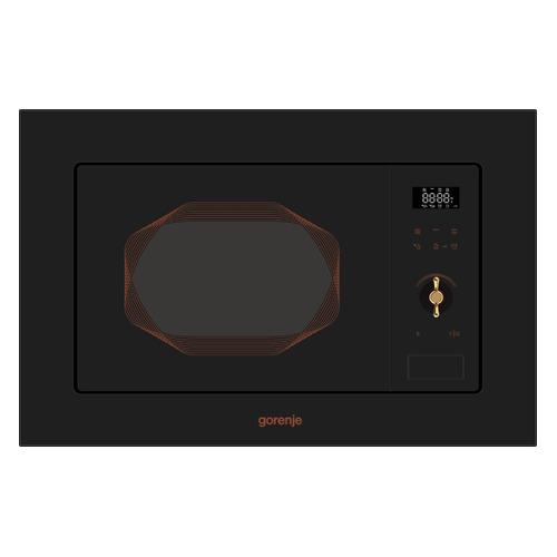 Микроволновая Печь Gorenje BM201INB 20л. 800Вт черный (встраиваемая) цена и фото