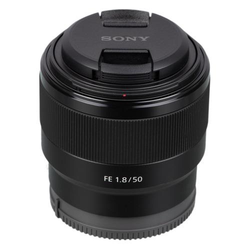 Объектив SONY 50mm f/1.8 SEL, Alpha E-Mount [sel50f18f.syx] цена и фото