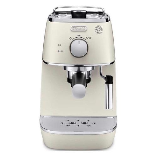 Кофеварка DELONGHI ECI341W, эспрессо, белый [0132104143] кофеварка эспрессо delonghi ecp33 21 r 1100вт красный