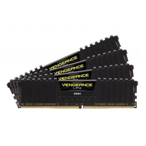 Модуль памяти CORSAIR Vengeance LPX CMK64GX4M4A2400C14 DDR4 - 4x 16Гб 2400, DIMM, Ret цена и фото