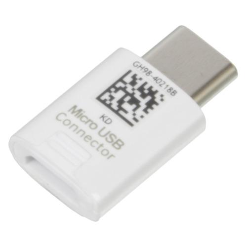 Адаптер SAMSUNG EE-GN930, micro USB B (f), USB Type-C (m), белый [ee-gn930bwrgru] цена и фото