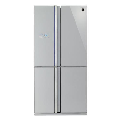 Холодильник SHARP SJ-FS97VSL, трехкамерный, серебристый