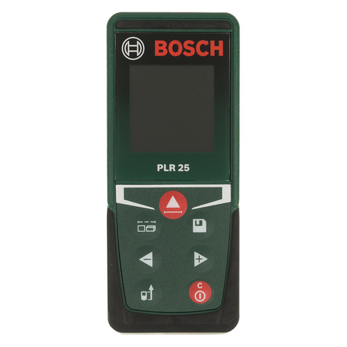 Лазерный дальномер BOSCH PLR 25 [0603672521] дальномер bosch plr 40 c 0603672320