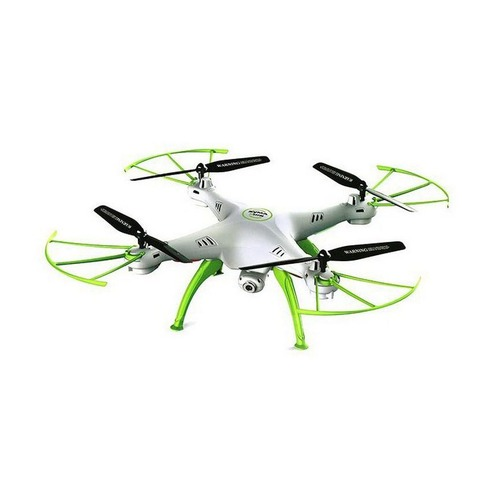 Квадрокоптер SYMA X5HW с камерой, белый [x5hw white-green] syma x5hc x5hw rc quadcopter parts 5 pcs 3 7v 600mah lipo battery with 5 in1 usb charger adapter cable drone spare parts set