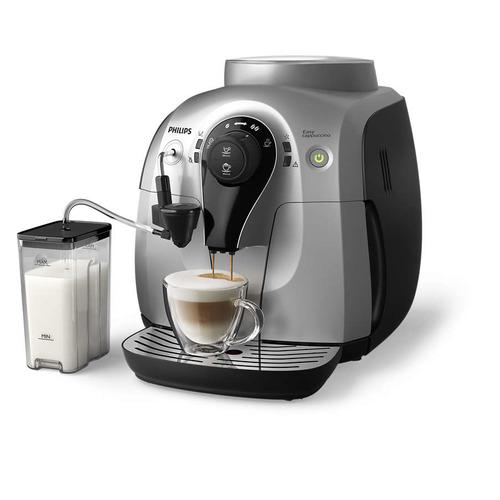 Кофемашина PHILIPS HD8654/59, черный/серебристый цена
