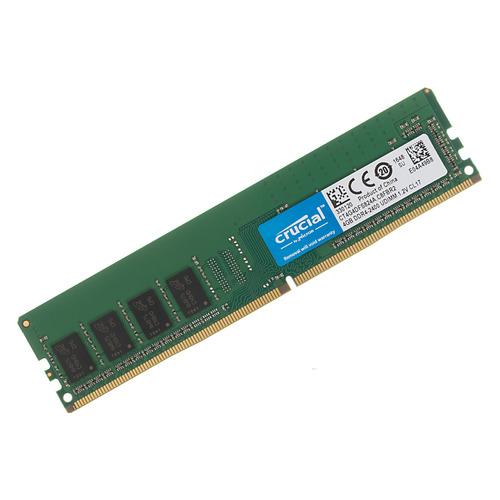 Модуль памяти CRUCIAL CT4G4DFS824A DDR4 - 4ГБ 2400, DIMM, Ret so dimm ddr4 4гб crucial ct4g4sfs824a