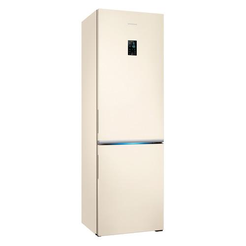 лучшая цена Холодильник SAMSUNG RB34K6220EF, двухкамерный, бежевый [rb34k6220ef/wt]