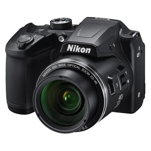 Фото - Цифровой фотоаппарат NIKON CoolPix B500, черный 150 мм 15 см 6 электронной цифровой жк сталь штангенциркуль калибр микрометр