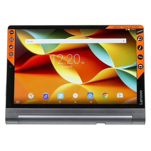 Планшет LENOVO Yoga Tablet 3 Pro YT3-X90L, 4GB, 64GB, 3G, 4G, Android 5.1 черный [za0g0086ru] teclast t10 10 1 inch android tablet pc 2560 x 1600 resolution mtk8176 4g 64g 13mp fingerprint recognition