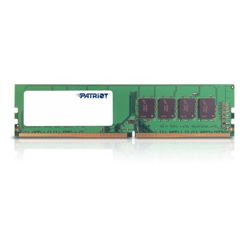 Модуль памяти PATRIOT Signature PSD416G21332 DDR4 - 16Гб 2133, DIMM, Ret модуль памяти patriot psd44g213381s ddr4 4гб 2133 so dimm ret