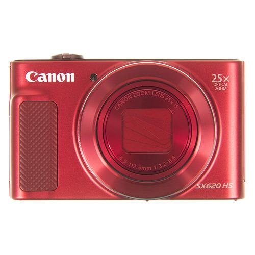Фото - Цифровой фотоаппарат CANON PowerShot SX620 HS, красный самокат кикборд novatrack disco kids детский 3 колесный 120sb discokids rd9 красный