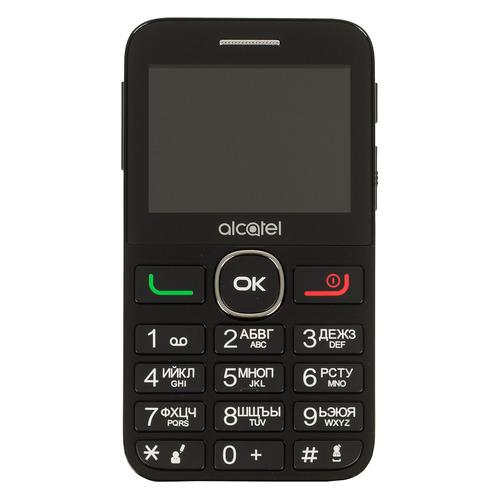 Мобильный телефон ALCATEL Tiger XTM 2008G, черный alcatel 2008g