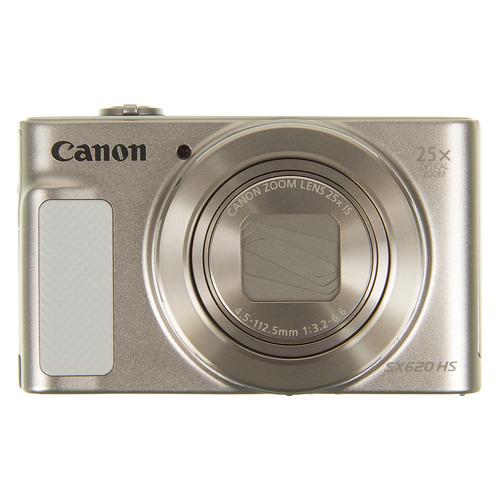Фото - Цифровой фотоаппарат CANON PowerShot SX620 HS, белый видео