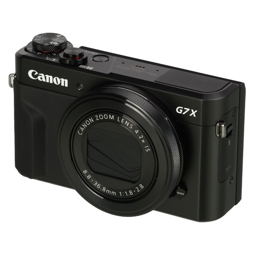Цифровой фотоаппарат CANON PowerShot G7 X MARKII, черный 3axis dslr brushless gimbal handle camera carbon mount with alexmos controller for canon 5d markii