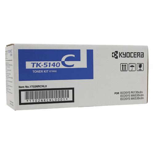 Картридж KYOCERA 1T02NRCNL0, голубой [tk-5140c] картридж kyocera tk 5140m 1t02nrbnl0 для kyocera ecosys m6030cdn m6530cdn p6130cdn пурпурный