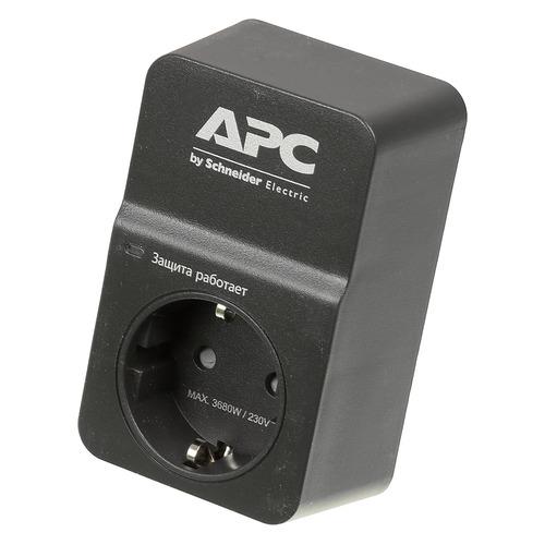 Сетевой фильтр APC PM1WB-RS, черный