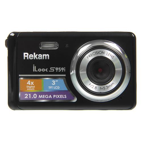 цена на Цифровой фотоаппарат REKAM iLook S959i, черный