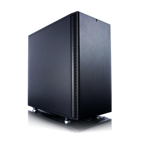 Фото - Корпус mATX FRACTAL DESIGN Define Mini C, Mini-Tower, без БП, черный [fd-ca-def-mini-c-bk] корпус fractal design define mini c tg fd ca def mini c bk tg черный