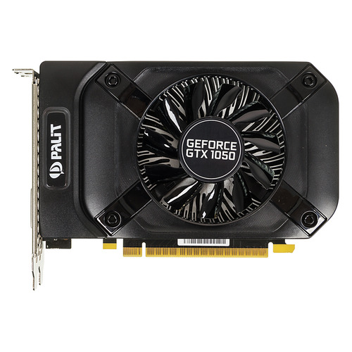 купить Видеокарта PALIT nVidia GeForce GTX 1050 , PA-GTX1050 StormX 2G, 2Гб, GDDR5, Ret [ne5105001841-1070f] онлайн