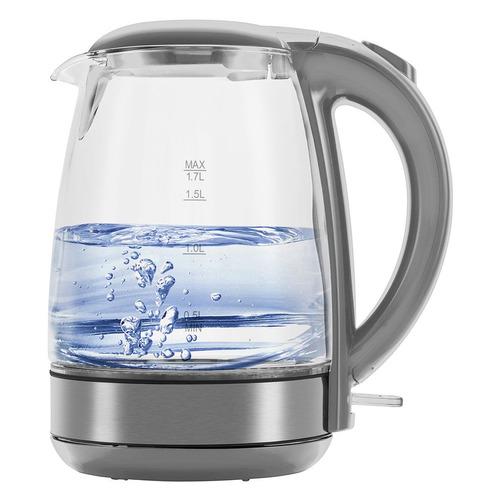 Чайник электрический POLARIS PWK 1719CGL, 2200Вт, серебристый чайник электрический polaris pwk 1719cgl 2200вт серебристый