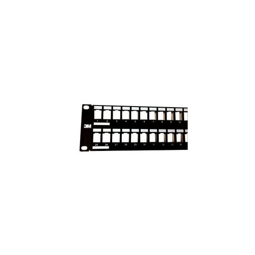 """Патч-панель наборная Corning (UU001622909) 19"""" 2U 48xRJ45 UTP"""