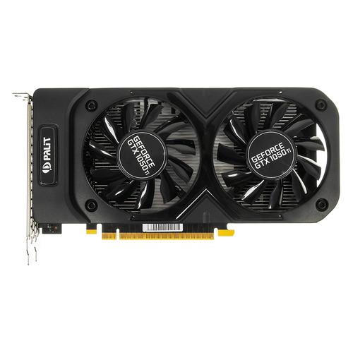 цена на Видеокарта PALIT nVidia GeForce GTX 1050TI , PA-GTX1050Ti Dual OC 4G, 4Гб, GDDR5, OC, Ret [ne5105ts18g1-1071d]