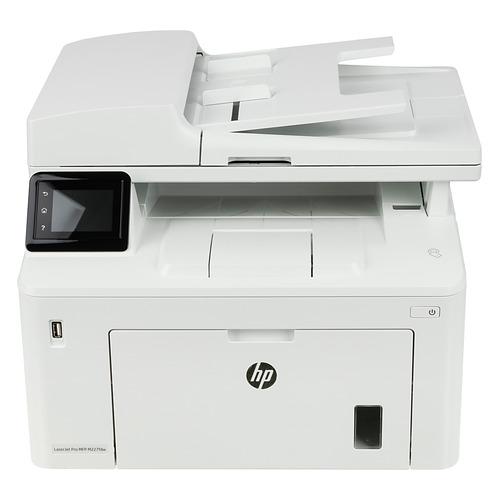 Фото - МФУ лазерный HP LaserJet Pro M227fdw, A4, лазерный, белый [g3q75a] мфу лазерный hp color laserjet pro m479fnw a4 цветной лазерный белый [w1a78a]