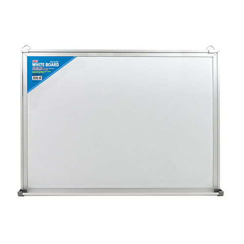 Фото - Демонстрационная доска Deli E7817 магнитно-маркерная лак 90x120см алюминиевая рама белый лоток для а поддон ombra a90050