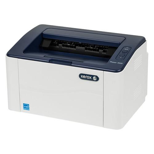 Фото - Принтер лазерный XEROX Phaser 3020 лазерный, цвет: белый [p3020bi] мфу лазерный xerox workcentre wc3025ni a4 лазерный белый [3025v ni]