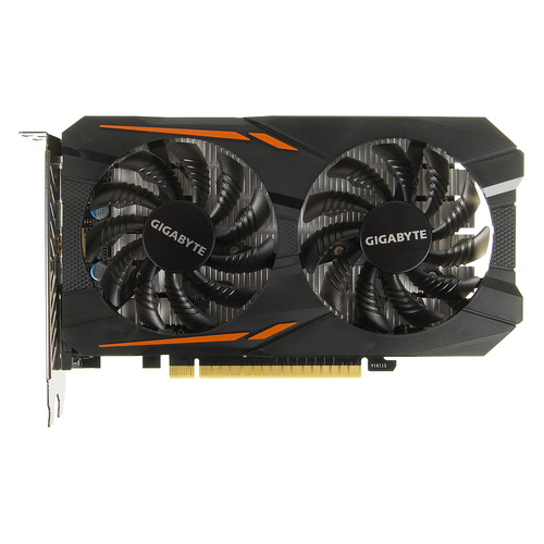 Видеокарта GIGABYTE nVidia GeForce GTX 1050TI , GV-N105TOC-4GD, 4Гб, GDDR5, OC, Ret видеокарта gigabyte geforce gtx 1050ti gv n105toc 4gd 4гб gddr5 oc ret