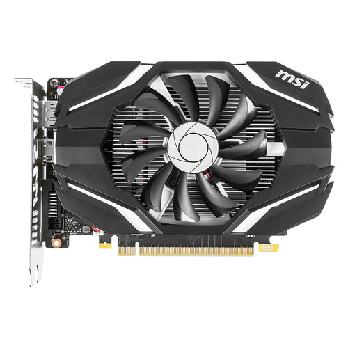 Видеокарта MSI nVidia GeForce GTX 1050 , GeForce GTX 1050 2G OC, 2Гб, GDDR5, Ret
