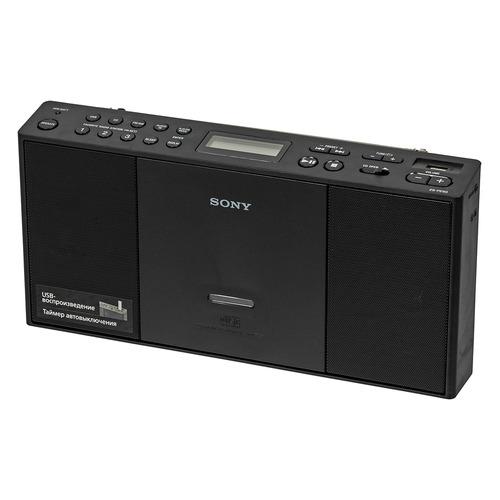 Аудиомагнитола SONY ZS-PE60, черный цена 2017